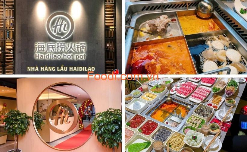 Haidilao Hotpot Việt Nam: Menu lẩu, bảng giá và review nhà hàng buffet A-Z