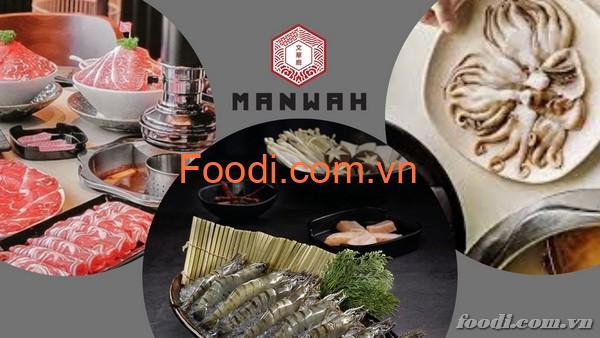 Manwah: Review chi tiết về thực đơn, bảng giá nhà hàng lẩu Đài Loan
