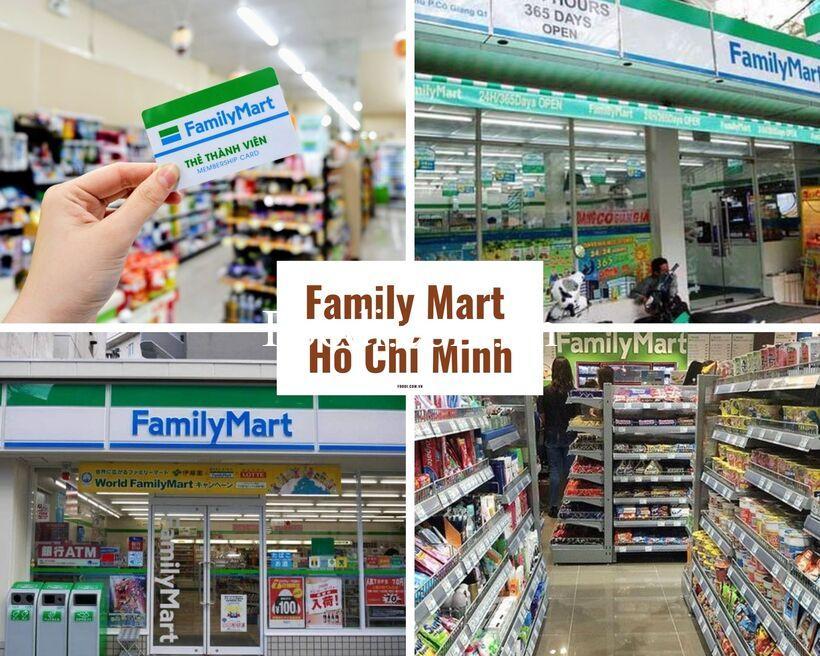 Top các cửa hàng Family Mart gần đây ở TPHCM – Sài Gòn luôn mở cửa